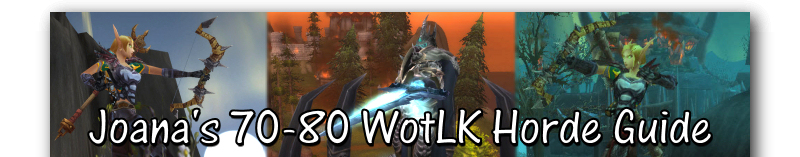 70-80 Wrath of the Lich King (WotLK) Northrend Leveling Guide