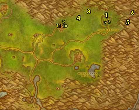 how to get to desolace horde