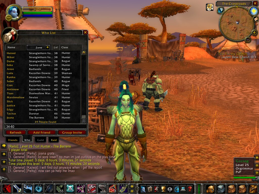 Joanas world of warcraft horde power leveling guide