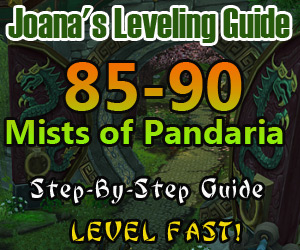 85-90 MoP Leveling Guide