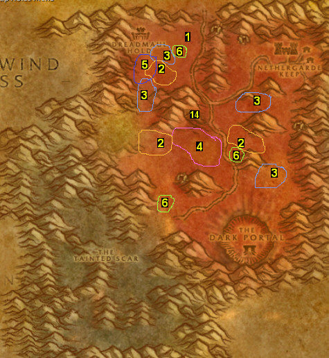 how to get to the balsted lands