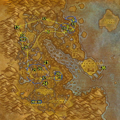 wow vanilla how to get into moonglade